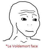 Le voldemort face
