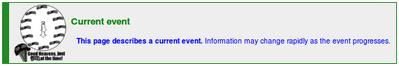 Notice current event