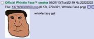 Wrinklefaceget