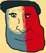 Vote Wrinkle Face