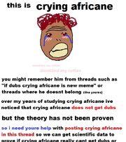 Cryingafricanescience