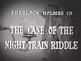 1954 24 The Case of the Night Train Riddle