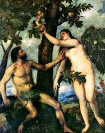 Luzifer korrumpiert Adam und Eva