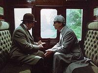 Holmes watson im zug