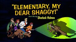 Scooby-Doo Elementar, mein lieber Shaggy