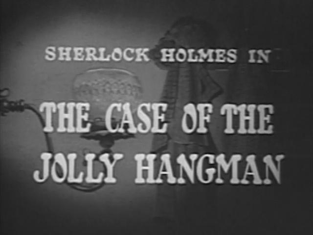 1954 28 The Case of the Jolly Hangman