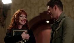 Rowena und geheilter Dean