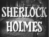 Sherlock Holmes (TV-Serie, 1954-55)