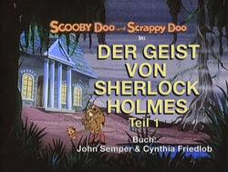 Scooby-Doo Der Geist von Sherlock Holmes