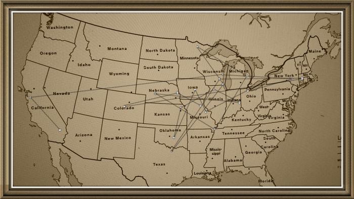 Karte staffel 1