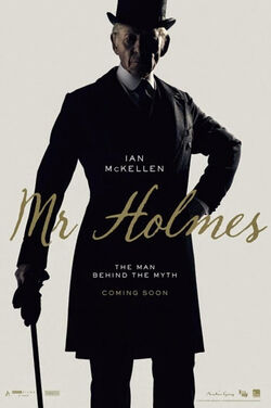Mr Holmes plakat