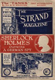 The Strand Magazine (cover), vol 65, no 321, September 1917