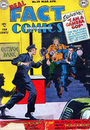 Dc real fact comic cover