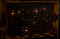 Back From The Dead Fergus