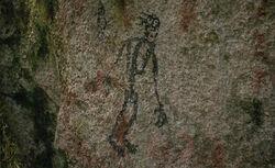 Wendigo Symbol (nicht verwendete Szene)