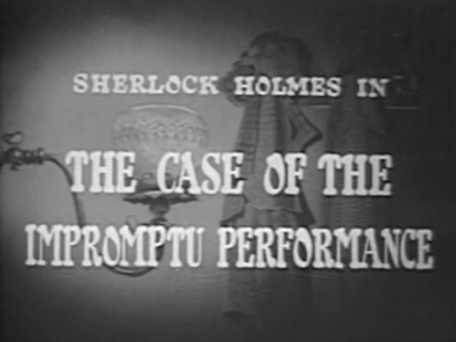 1954 32 The Case of the Impromptu Performance
