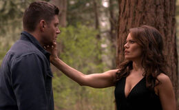 Dean trifft Amara im Wald