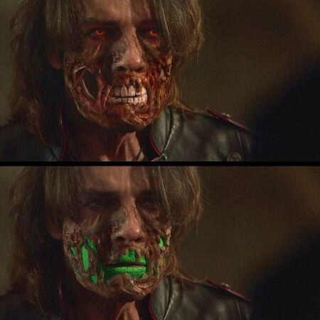 SPN 12x02 Lucifer Face SFX