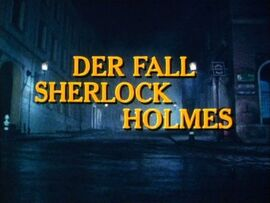 Whitehead - Der Fall Sherlock Holmes