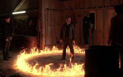 Ramiel in heiligem Feuer