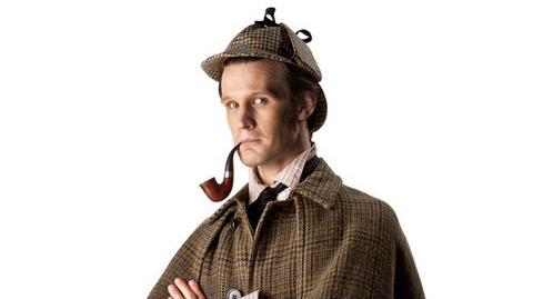 DOCTOR WHO - The Doctor... as Sherlock Holmes! Christmas 2012 BBC AMERICA