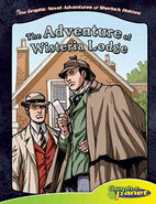 Graphic novel adventures wisteria