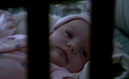 Amara als Baby