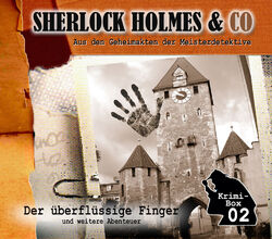 Sherlock Holmes & Co Krimi-Box 02