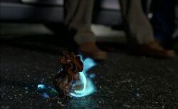 Hexenbeutel brennt