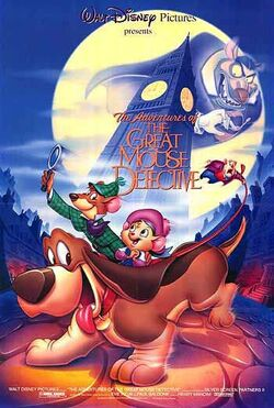 Great mouse detective 1986