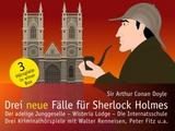 Drei neue Fälle für Sherlock Holmes