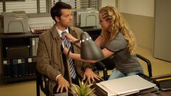 Claire and cas