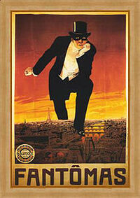 Fantomas early film poster