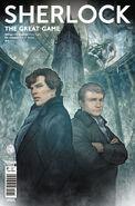 Sherlock 3.1 Cover A (Manga)