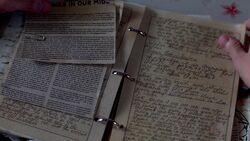 Garth liest in Bobbys Tagebuch