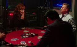 Rowena beim Poker