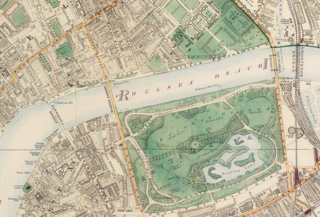 Battersea park 1891