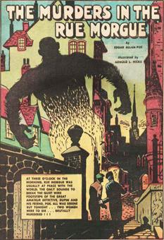 Rue morgue comic