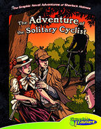 Graphic novel adventures cyclist