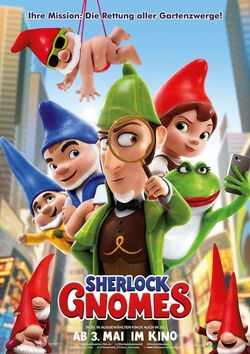 Sherlock Gnomes Plakat