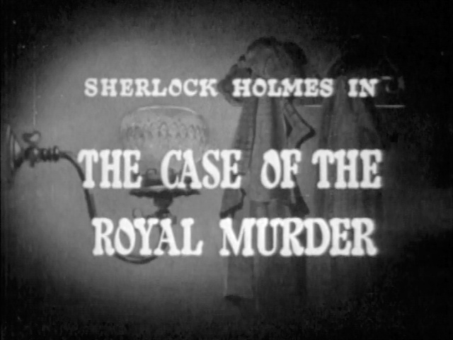 1954 34 The Case of the Royal Murder