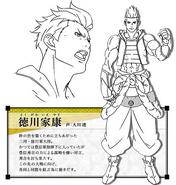 SBJE Ieyasu Concept Art