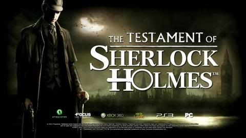 THE TESTAMENT OF SHERLOCK HOLMES TEASER 2