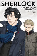 Sherlock 4.3 Cover C (Manga)