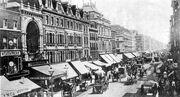 Oxford street um 1890
