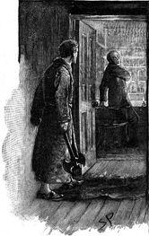 Musgrave entdeckt Brunton in der Hausbibliothek