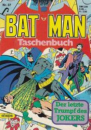 Batman Taschenbuch 37