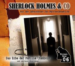 Sherlock Holmes & Co Krimi-Box 06
