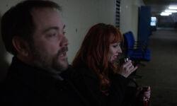 Crowley konfrontiert Rowena