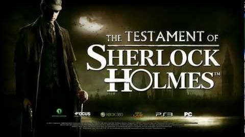THE TESTAMENT OF SHERLOCK HOLMES TEASER 1